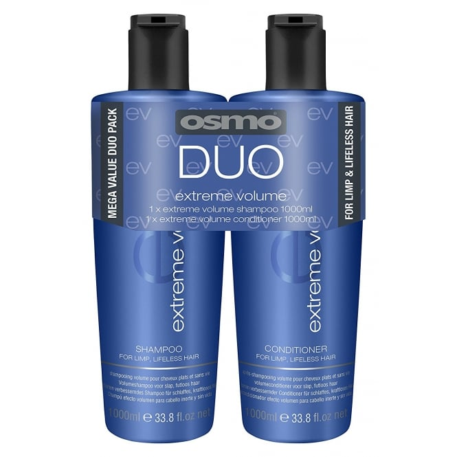 Osmo Extreme Volume Shampoo & Conditioner Twin 2 x 1000ml