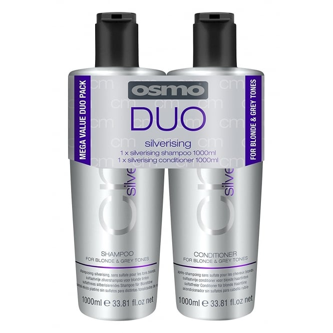 Osmo Silverising Shampoo & Conditioner Twin 2 x 1000ml