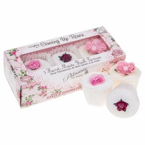 Everything Coming Roses Handmade Bath Melts Trio Pack