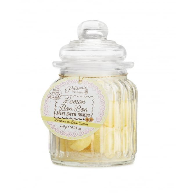 Patisserie de Bain Lemon Bon-Bon Mini Bath Bombs Sweetie Jar
