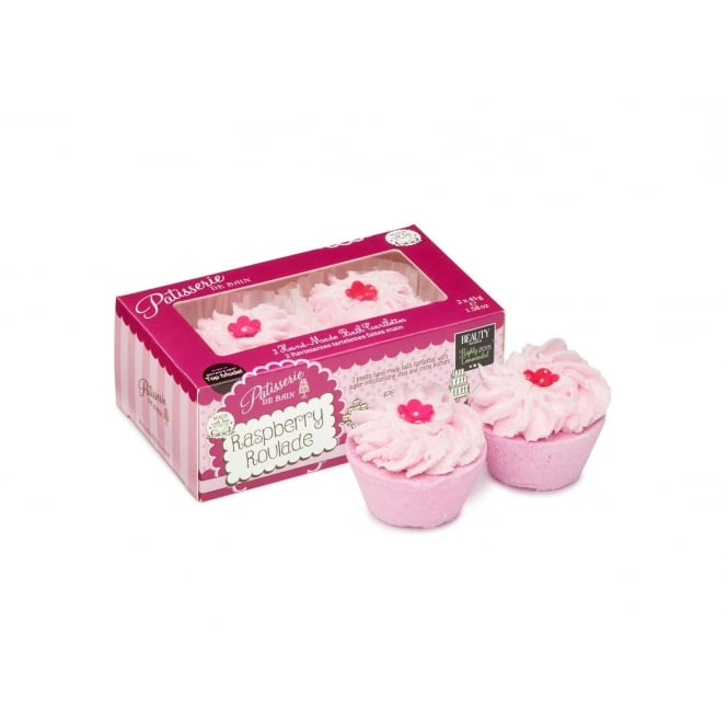Patisserie de Bain Raspberry Roulade Bath Tartlettes Duo Pack