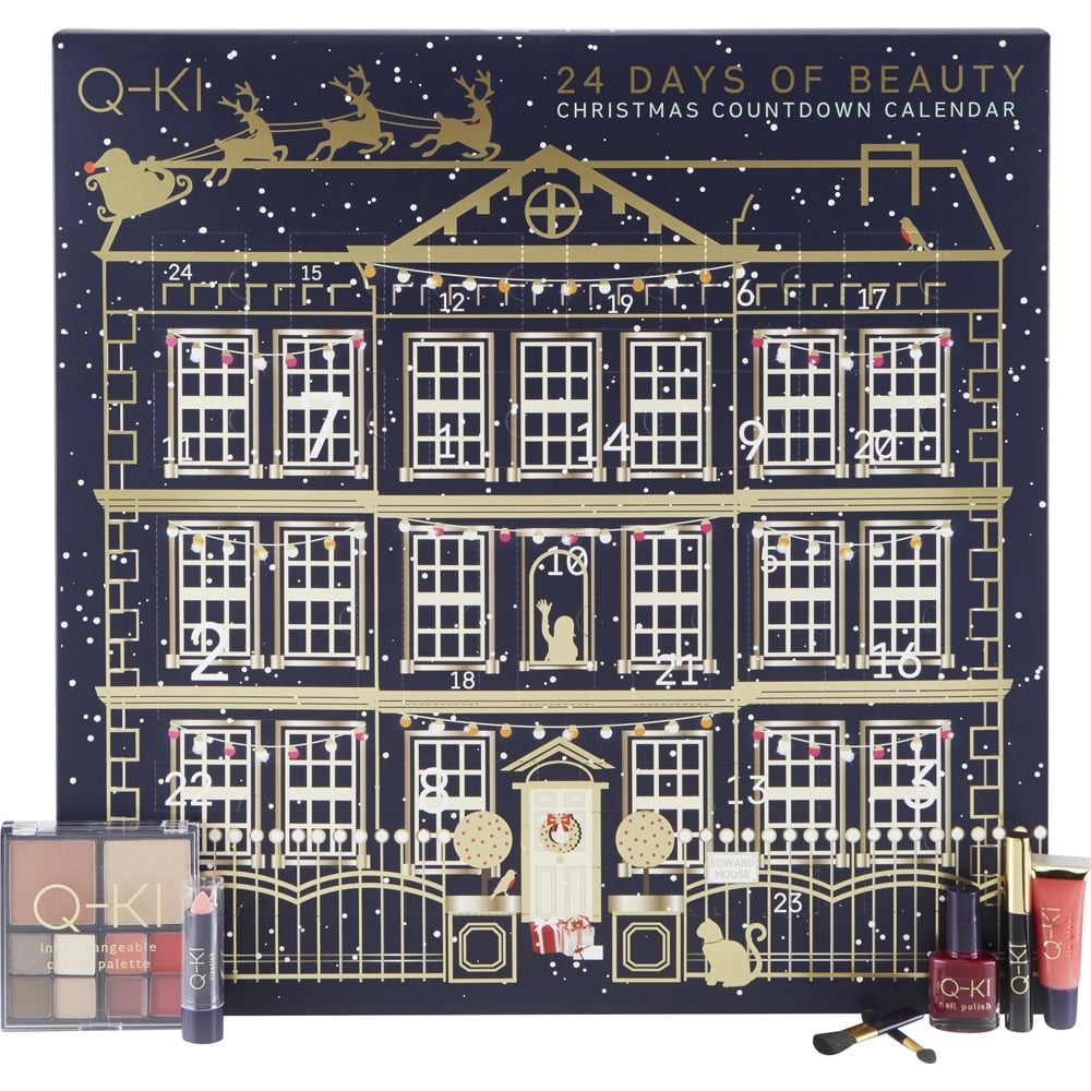 Calendar Q : Q ki cosmetic advent calendar make up free