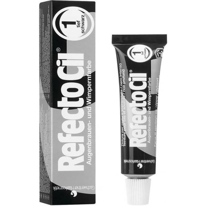 RefectoCil Pure Black Eyelash Tint 15ml