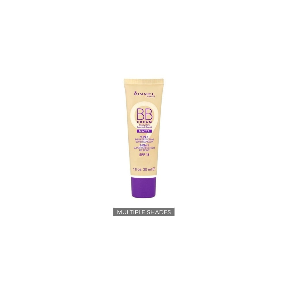 a28bfe862a2 Rimmel BB Cream 9 in 1 SPF15 30ml - Free Delivery - Justmylook