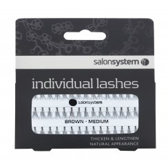 Individual Lashes Brown Medium