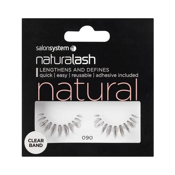 Salon System Naturalash Strip Lashes Black 090