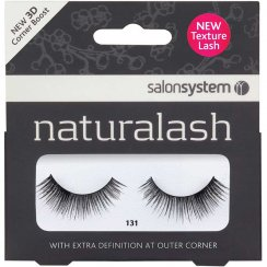 Naturalash Strip Lashes Black 131 3D Corner Boost