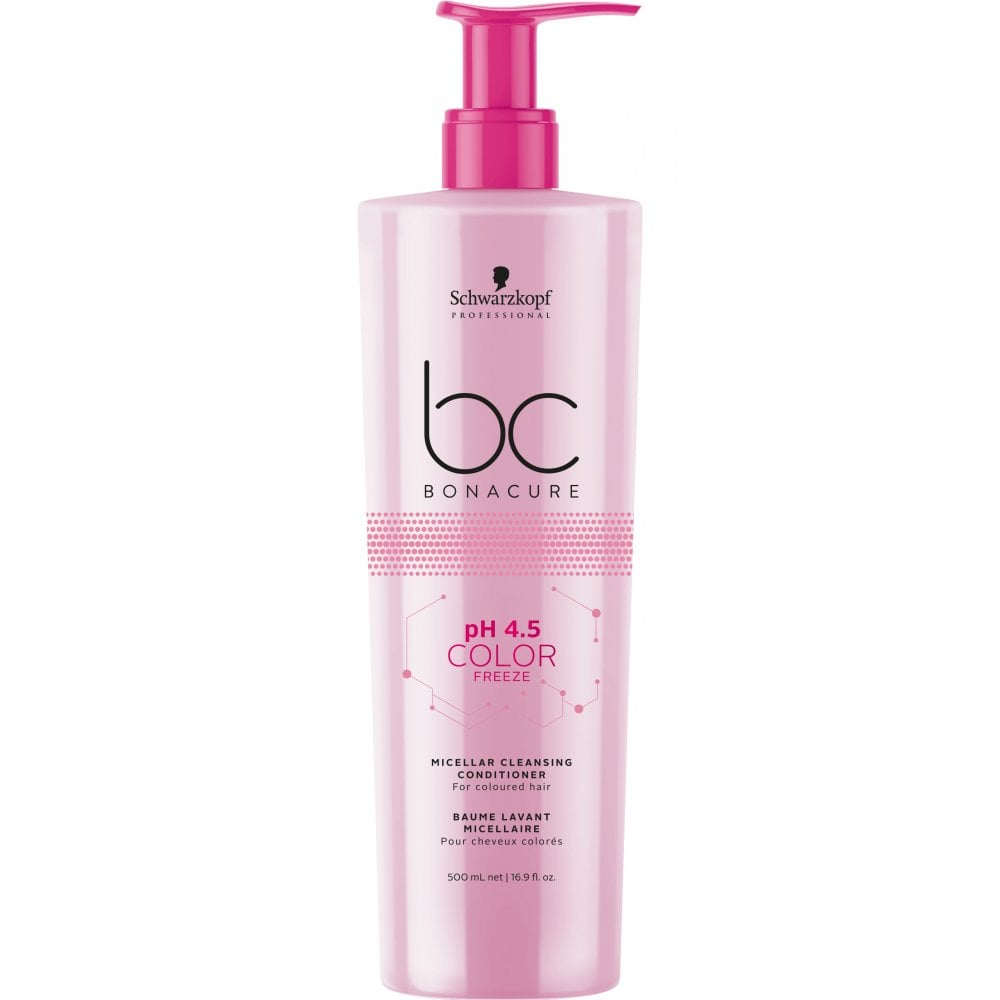 579f21a7bb Schwarzkopf Professional BC Bonacure pH 4.5 Colour Freeze Micellar  Cleansing Conditioner 500ml