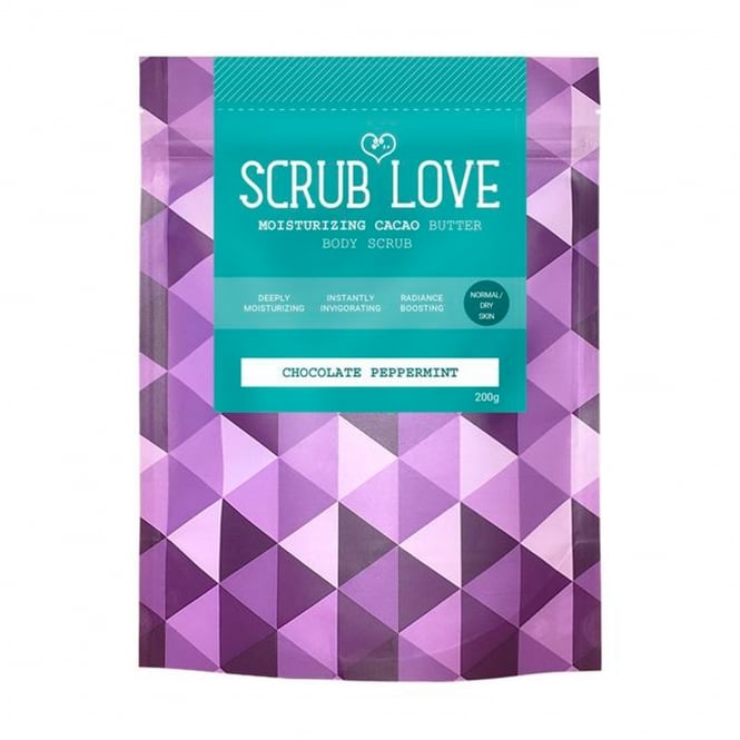 Scrub Love Chocolate Peppermint Cacao Body Scrub 200g