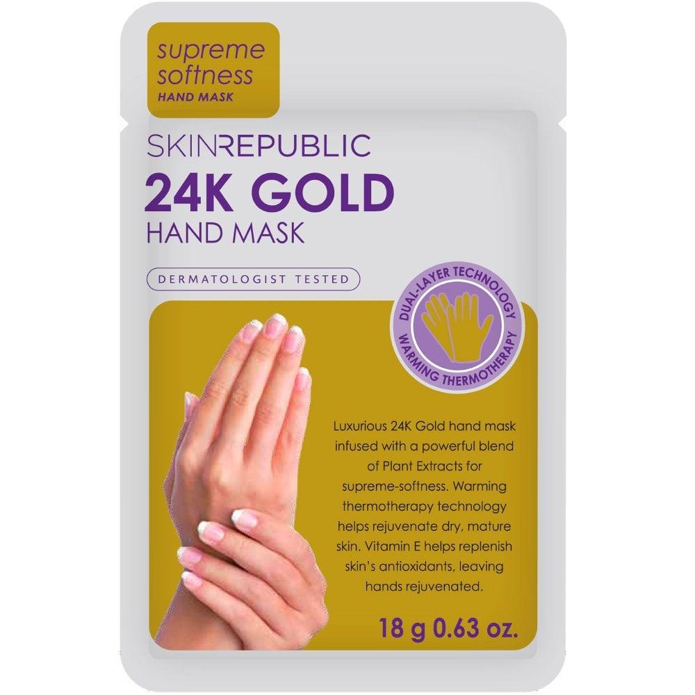 Skin Republic 24K Gold Hand Mask 18g