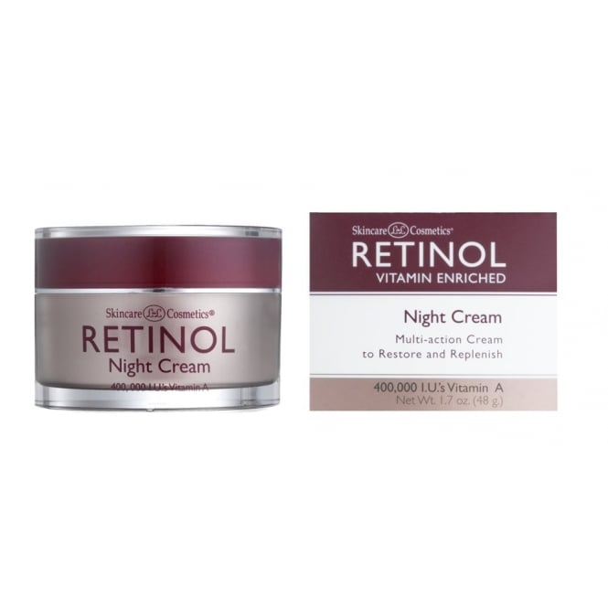 Skincare Termahal: Skin Care Cosmetics Retinol Vitamin A Night Cream 48g