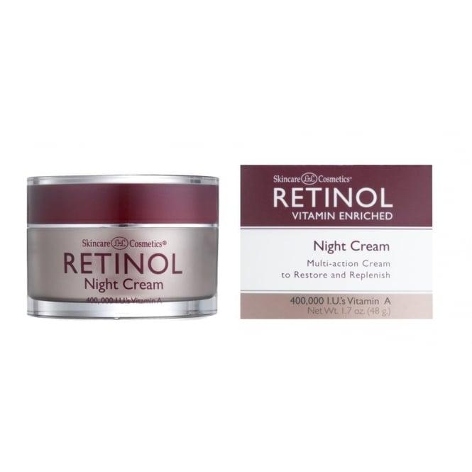 Skincare Termahal: Skin Care Cosmetics Retinol Vitamin A Night Cream 48g