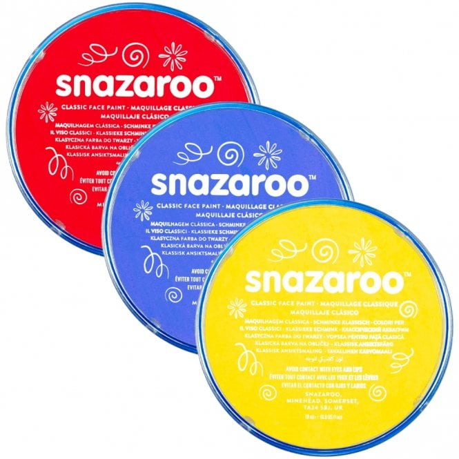 Snazaroo Classic Face Paint 18ml Makeup Free Delivery