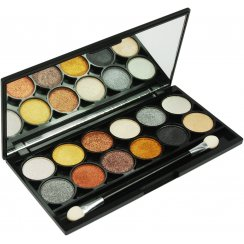 Electric Eyes Metalix 12 Colour Eyeshadow Palette