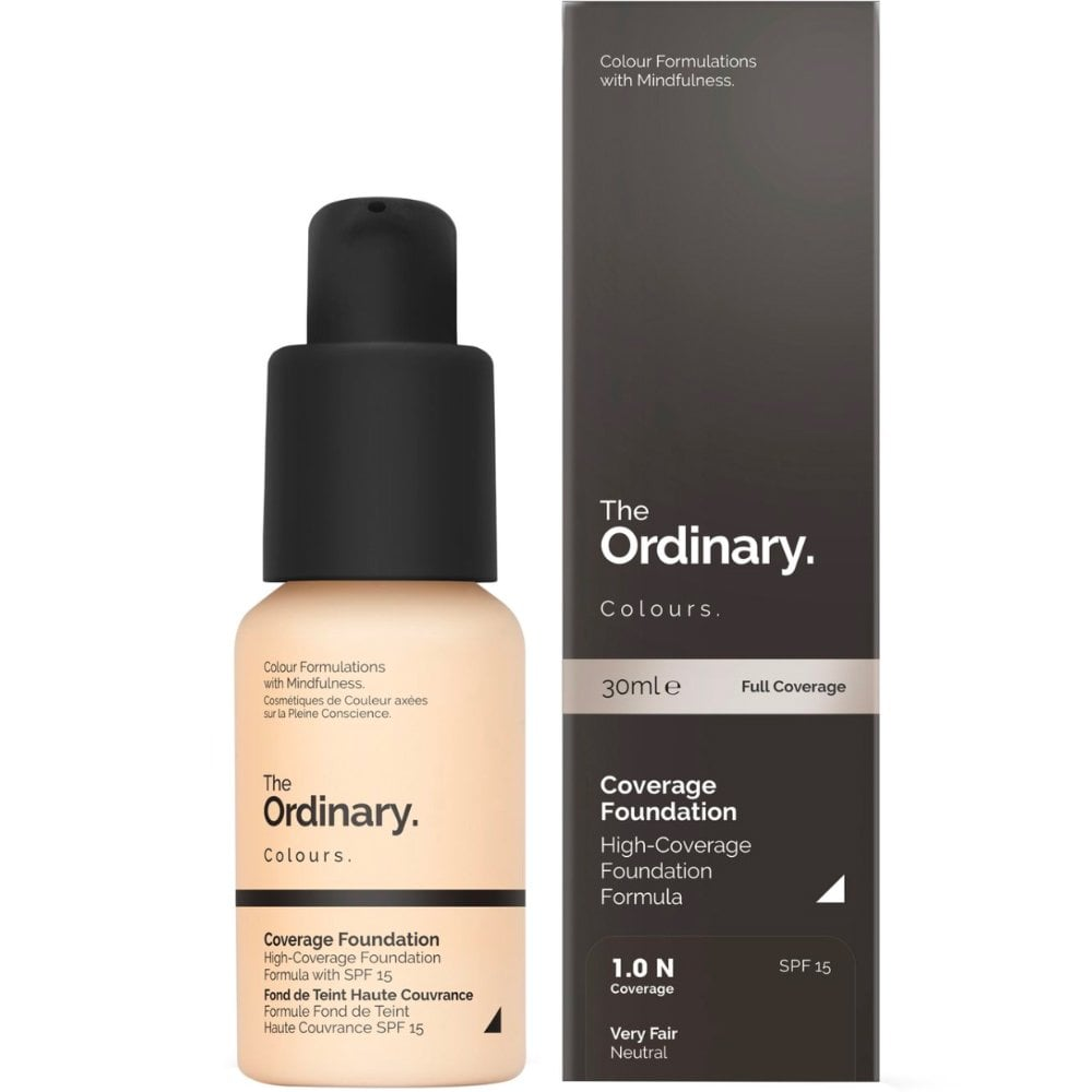 The Ordinary Coverage Foundation SPF15 1 0N 30ml Shade: 1 0N