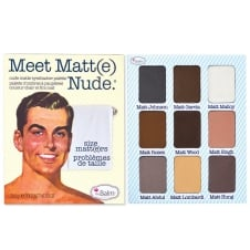 Meet Matte Nude 9 Colour Eyeshadow Palette