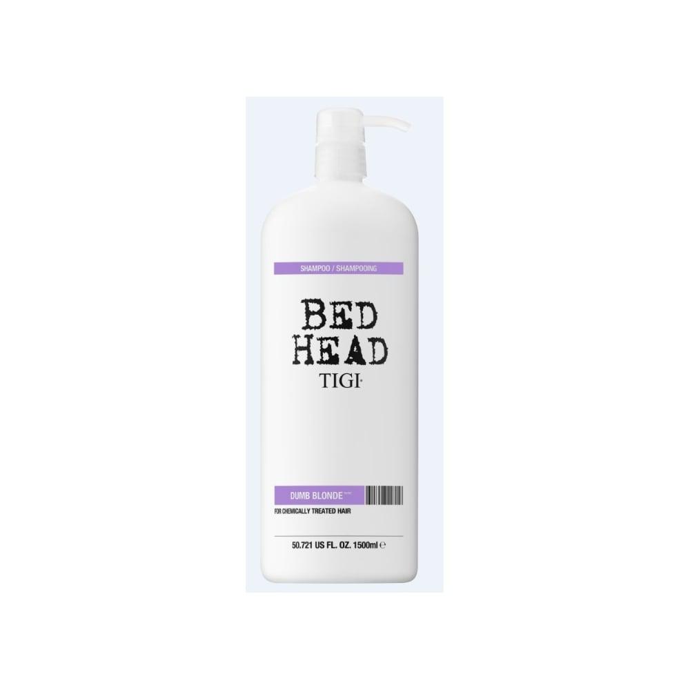 tigi bed head dumb blonde shampoo 1500ml free delivery justmylook. Black Bedroom Furniture Sets. Home Design Ideas