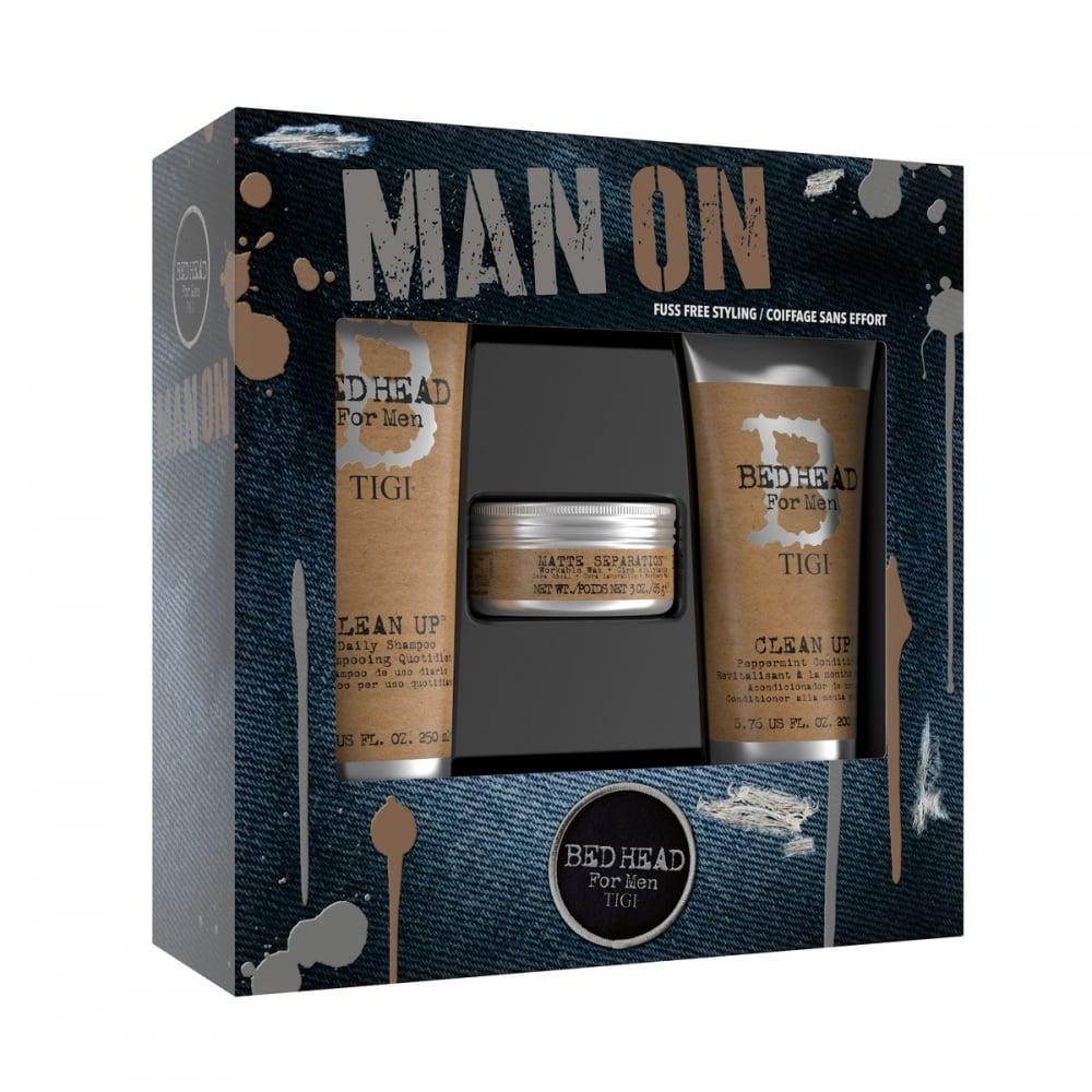 TIGI Bed Head For Men Man On Gift Set  sc 1 st  Just My Look & TIGI Bed Head For Men Man On Gift Set - Hair - Free Delivery ...