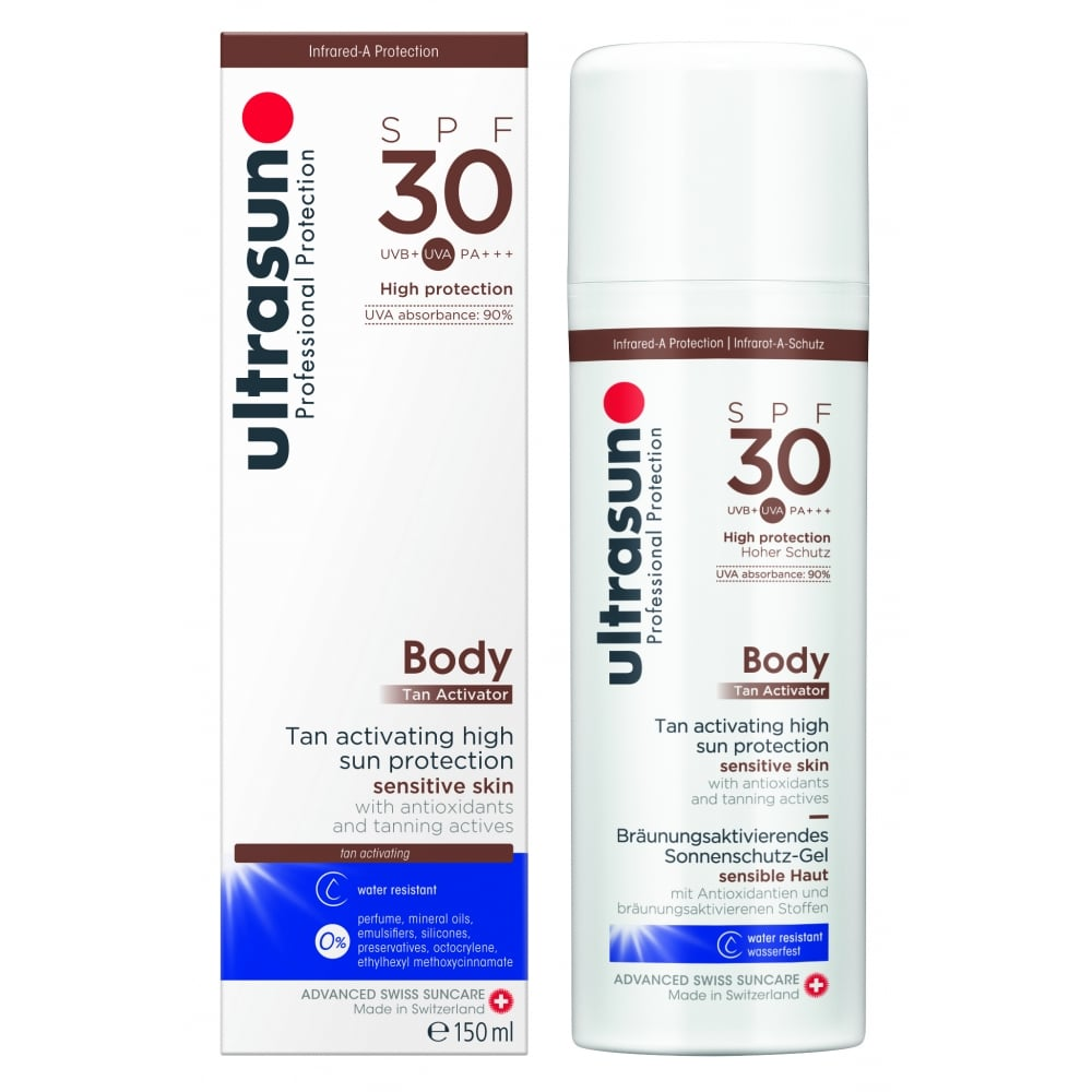 d7e9fbddd53265 Ultrasun Body Tan Activator SPF30 150ml - Free Delivery - Justmylook