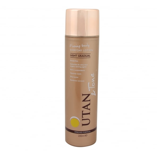 UTan and Tone Gradual Self Tan Lotion Light 200ml