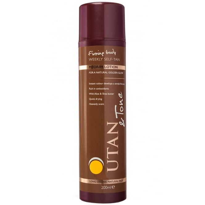 UTan and Tone Weekly Self Tan Lotion Medium 200ml