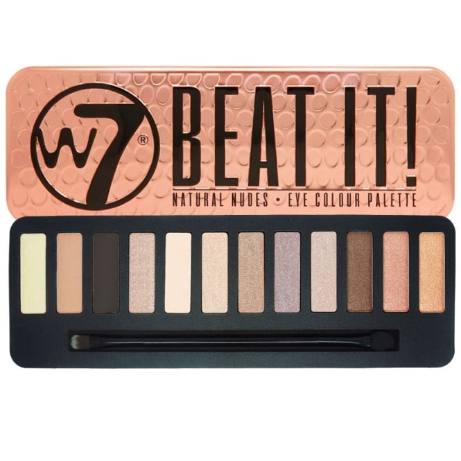 W7 Cosmetics Beat It Natural Nudes 12 Colour Eyeshadow Palette
