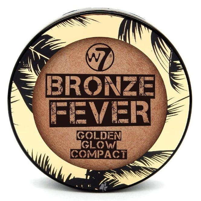 W7 Cosmetics Bronze Fever Golden Glow Compact