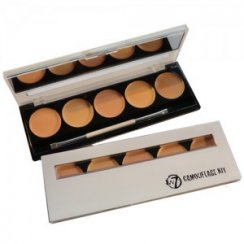 Camoflague Kit 5 Colour Cream Concealer Pallette