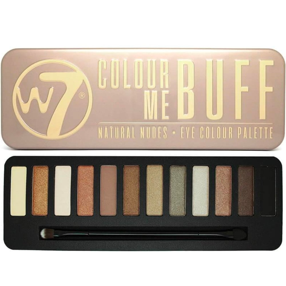 W7 Makeup Review In The Buff Saubhaya
