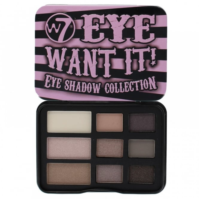 W7 Cosmetics Eye Want It 9 Colour Eyeshadow Palette