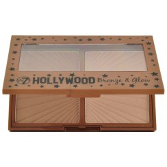 Hollywood Bronze & Glow Highlighter Bronzing Pressed Powder