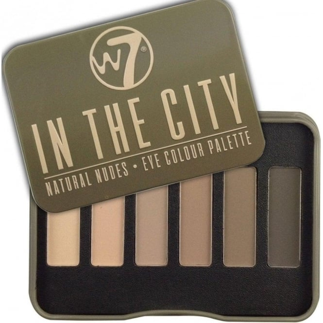 W7 Cosmetics In The City Natural Nudes 6 Colour Eyeshadow Palette