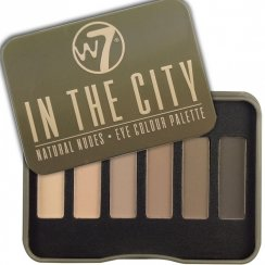 In The City Natural Nudes 6 Colour Eyeshadow Palette