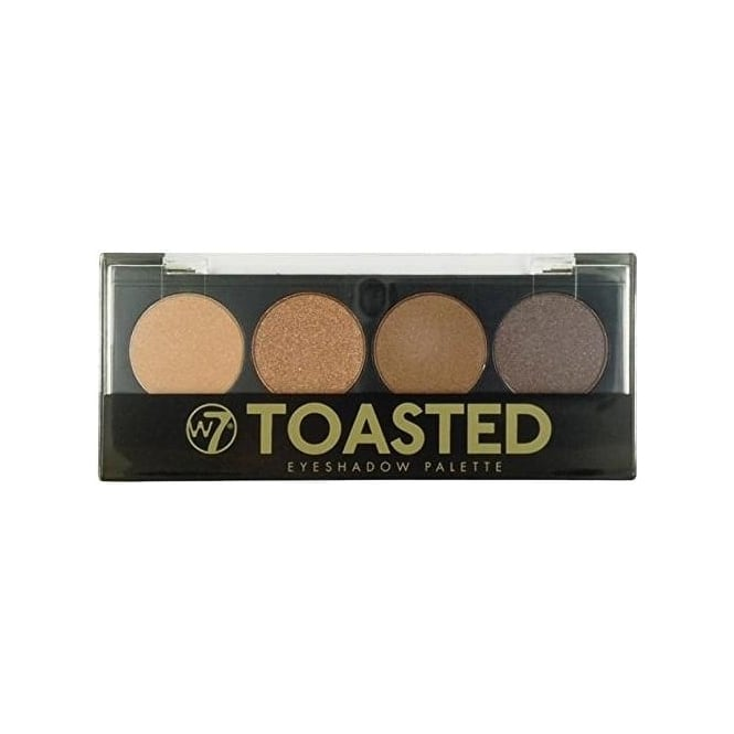 W7 Cosmetics Toasted 4 Colour Eyeshadow Palette