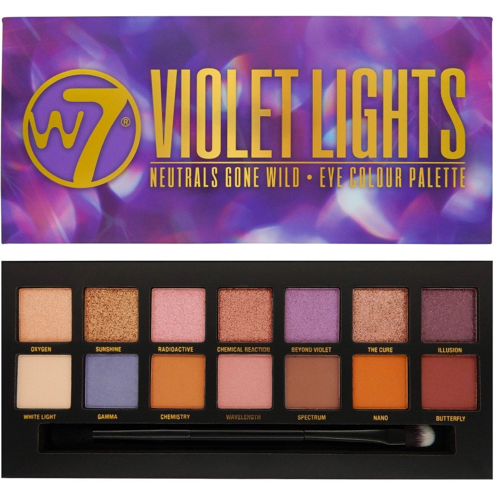 bc45c66c5fe W7 Cosmetics Violet Lights 14 Colour Eyeshadow Palette - Make Up ...