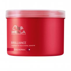 Brilliance Mask Fine To Normal Coloured Hair 500ml