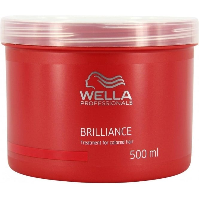 Wella Professionals Brilliance Mask For Coarse Coloured Hair 500ml