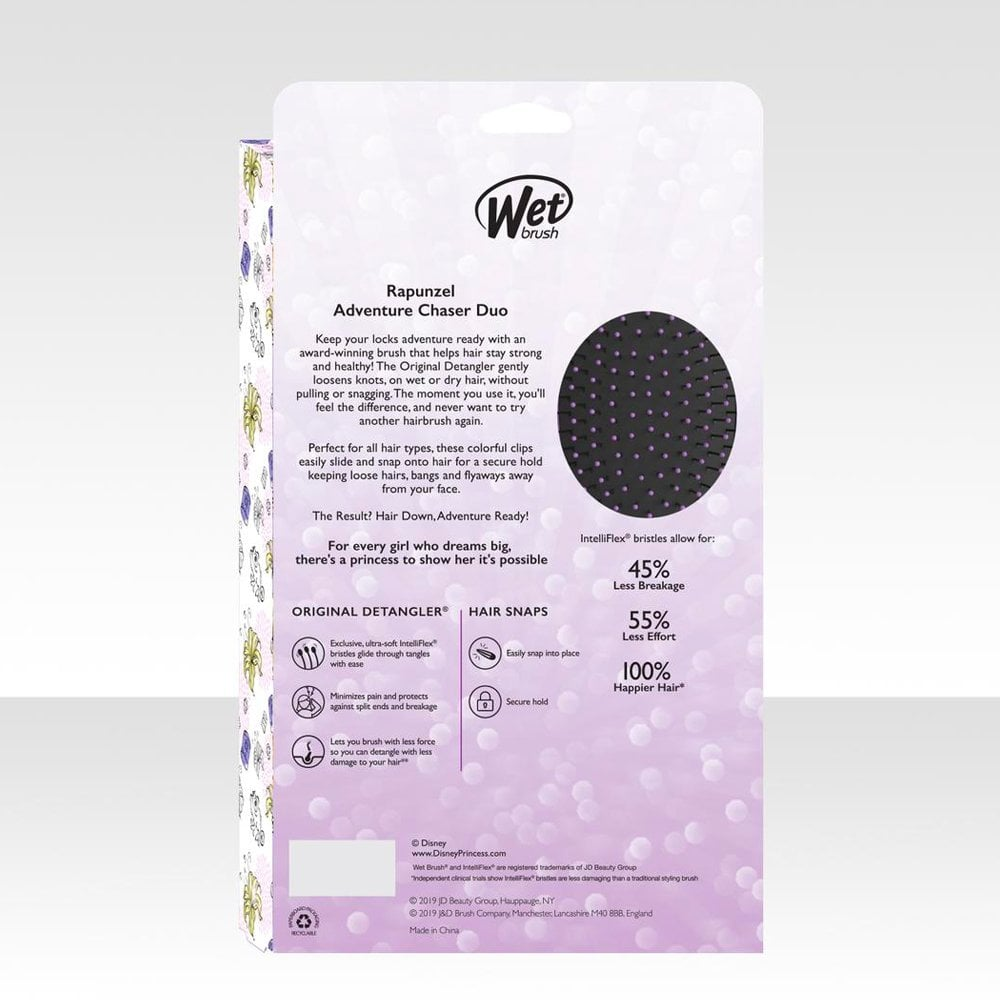 Wet Brush Wet Brush Rapunzel Disney Princess Detangler Gift Set Hair Free Delivery Justmylook