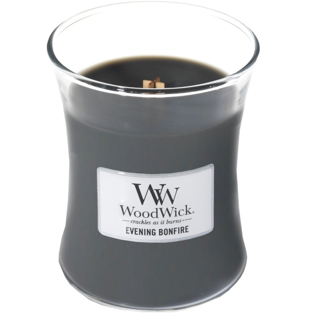 Evening Bonfire WoodWick Ellipse Scented Candle