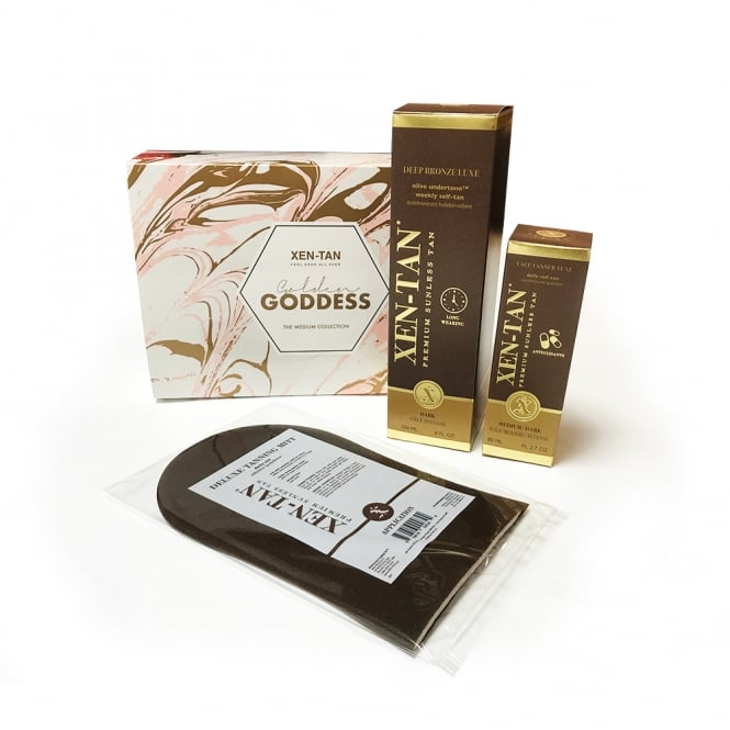 Xen-Tan Golden Goddess Gift Set