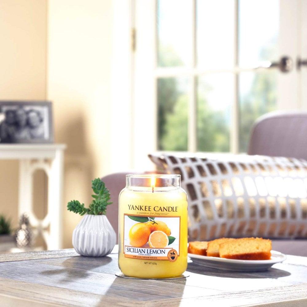 Yankee Candle Sicilian Lemon Large Jar Candle