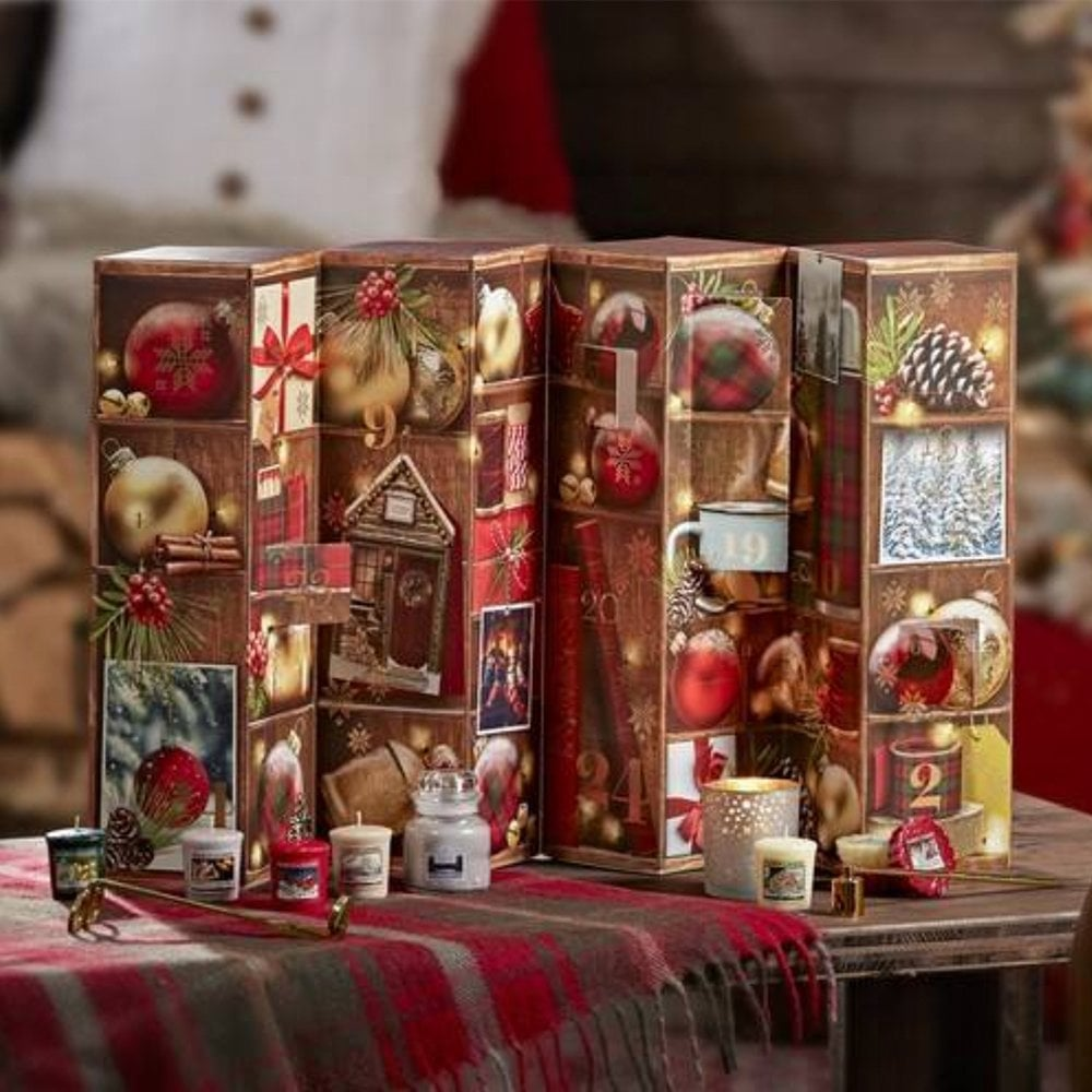 Yankee Candle Yankee Candle Tower Advent Calendar   Candles   Free